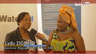 AFRICASAN 2015 : Entretien avec Mme ZIGOMO Lydia, Directrice Régionale EST Water AID