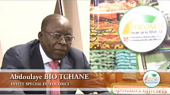 FOCOMCI 2013 : Entretien avec M. Abdoulaye Bio TCHANE