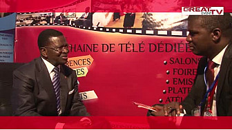 JNTIC 2014 : Entretien avec le Président Laurent DONA FOLOGO