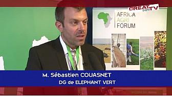 Africa Agri Forum 2014: Conférence de Presse du DG du groupe ELEPHANT VERT