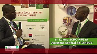 Africa Agri Forum 2014 : Entretien avec M. Euloge SORO-KIPEYA, (DG de l'ANSUT)
