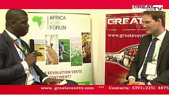 Africa Agri Forum 2014: Entretien avec M. Sébastien WEBBER, Directeur Commercial de PLANET GUARANTEE