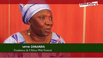 Entretien avec Mme DIAWARA, Fondatrice de l'Africa Web Festival