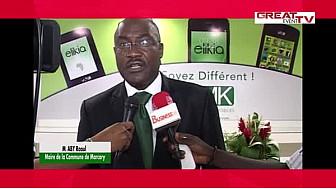 Propos recueillis lors de l'ouverture du premier VMK Store à Abidjan