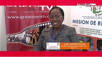 Entretien avec Dr SAKI NEKOURESSI Geneviève, Conseiller chargé de Programmes Mère-enfant OMS/CI