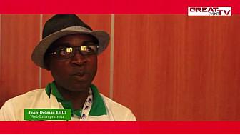 AWEF 2014: Entretien avec Jean-Delmas EHUI, Web entrepreneur ivoirien