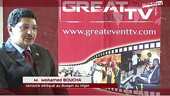 GIABA: Entretien avec M. Mohamed BOUCHA, Ministre Délégué au Budget du Niger