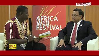 AFRICA WEB FESTIVAL 2015: Entretien avec S.E.M Georges SERRE