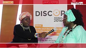 DISCOP Africa 2016: Entretien avec Mme Gisèle NGOUNOU, Distributrice d'images Câblées au Cameroun