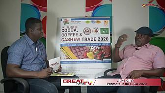 Entretien avec  M. Ako DIBY, Commissaire général du SICA 2020