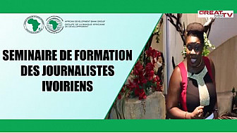 AFDB: Réactions des participants au séminaire de formation des journalistes ivoiriens