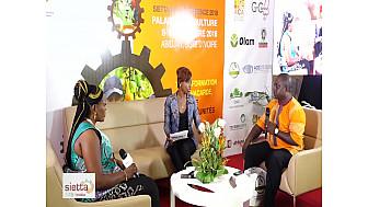 Entretien avec une journaliste du Cameroun et un Conseiller Technique de la Guinée Bissau
